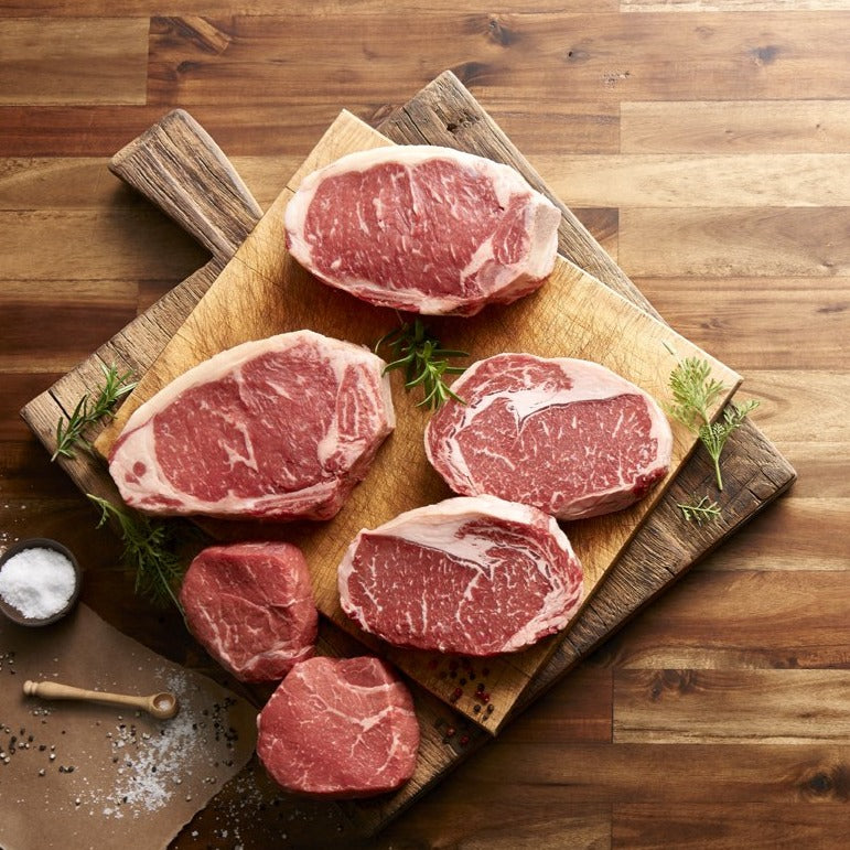 44 Farms USDA Choice Family Steak Pack