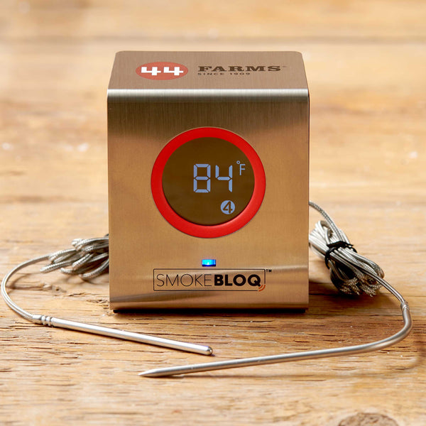 44 Farms SmokeBloq Wireless Meat Thermometer