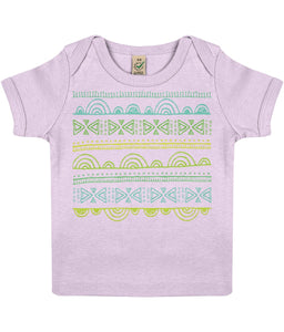 Baby T-shirt | Ethnic Pattern | Sustainable Fashion - IndianBelieves
