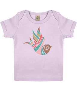 Baby T-shirt | Little Bird | Sustainable Fashion - IndianBelieves
