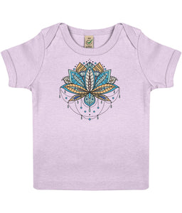 Baby T-shirt | Mandala | Sustainable Fashion - IndianBelieves