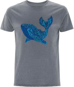 Blue Whale  T-shirt | Sustainable Fashion - IndianBelieves