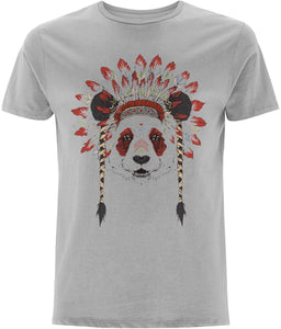 Bohemian Panda T-shirt | Sustainable Fashion - IndianBelieves