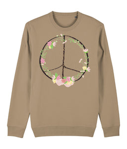 Bohemian Peace Sweatshirt | Sustainable Fashion - IndianBelieves