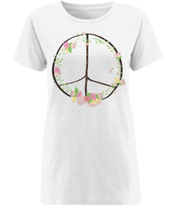 Bohemian Peace T-shirt | Sustainable Fashion - IndianBelieves