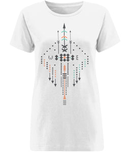 Boho Totem II T-shirt | Sustainable Fashion - IndianBelieves