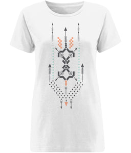 Boho Totem III T-shirt | Sustainable Fashion - IndianBelieves