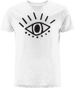 Esoteric Eye T-shirt Clothing IndianBelieves White X-Small