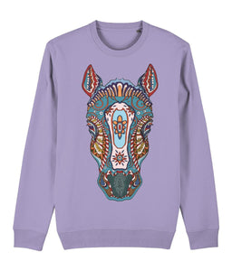 Ethnic Horse Sweatshirt - IndianBelieves