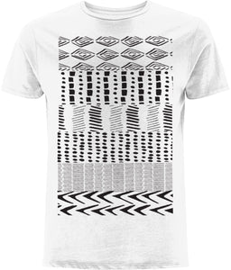 Ethnic Pattern I T-shirt Clothing IndianBelieves White X-Small