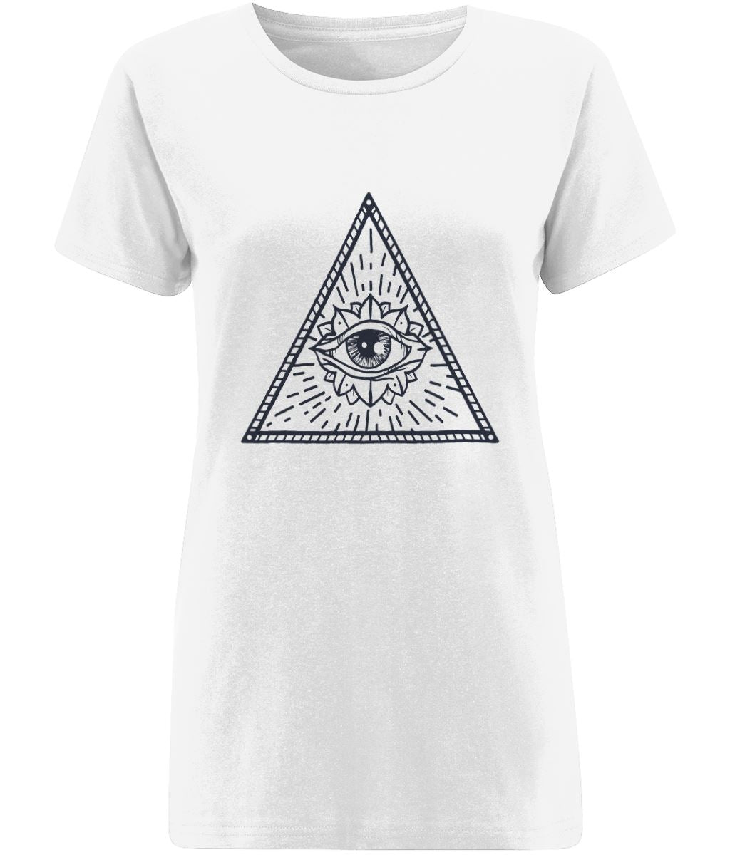 Eye of Providence II T-shirt | Sustainable Fashion - IndianBelieves