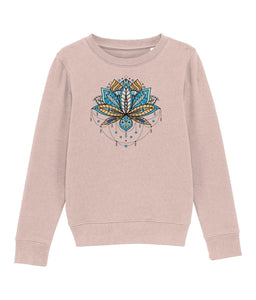 Mini Changer kid Clothing IndianBelieves Cream Heather Pink XS / 3-4