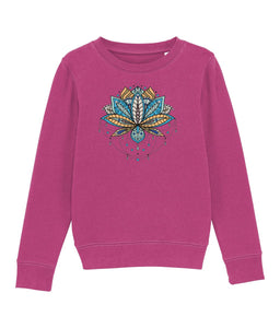 Mini Changer kid Clothing IndianBelieves Raspberry XS / 3-4