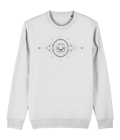 The Lotus & The Moon Sweatshirt - IndianBelieves