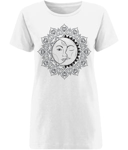 The Sun & The Moon T-shirt - IndianBelieves