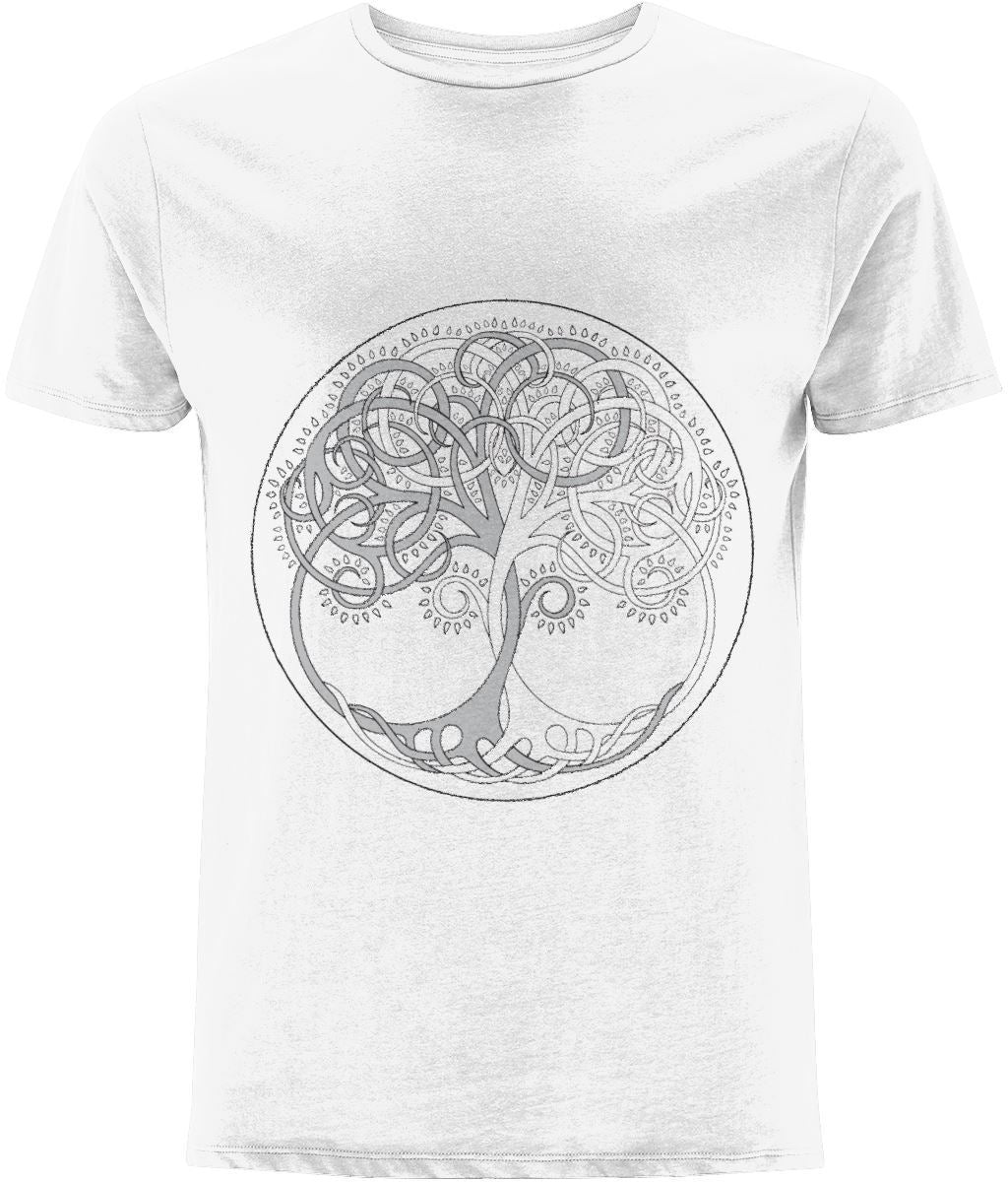 Tree of Life T-shirt Clothing IndianBelieves White X-Small