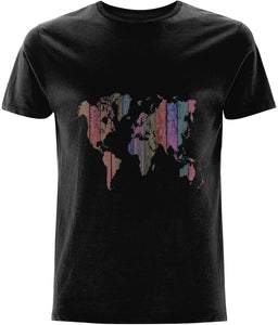 World Map T-shirt - IndianBelieves
