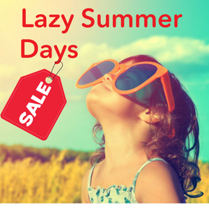 Lazy Summer Days Sale!