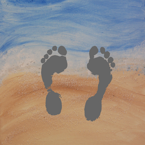 DIY...Footprints in the Sand!