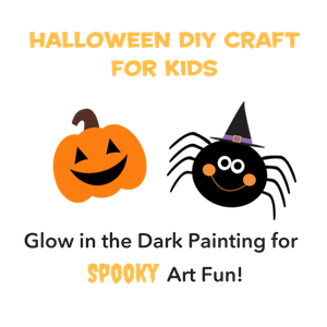 DIY Halloween Craft: Glow in the Dark Spookiness!