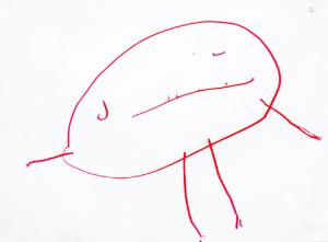 Kids Drawing Tadpole People