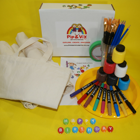 Designed By Me Tote Party Pack (7-12 yrs)
