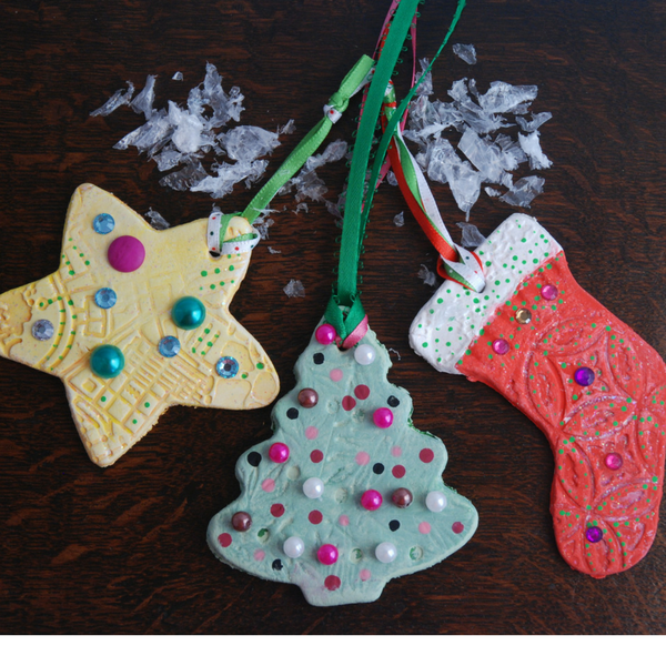Holiday Clay Ornaments Party Pack (3-6 yrs)