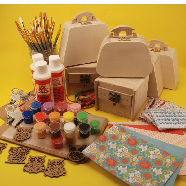 Decoupage Treasure Box Party Pack (13+)