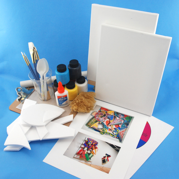 Included in our 3-d painting art kit for little kids