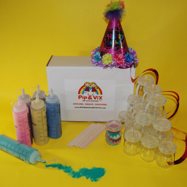 Fun with Sand Art Party Pack (3-6 yrs)
