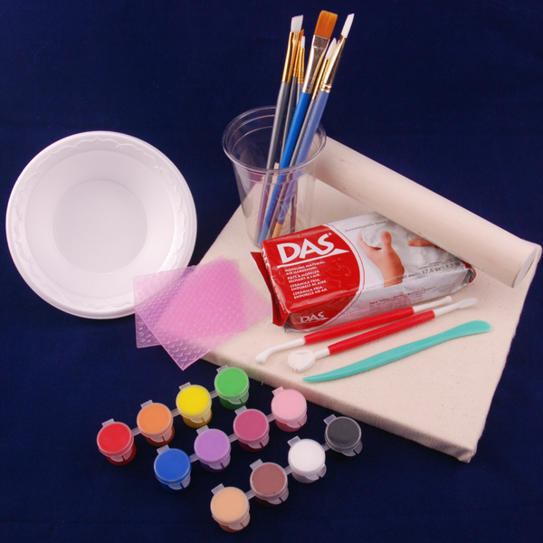 Clay Hand Bowl Art Kit for 3-6 year olds