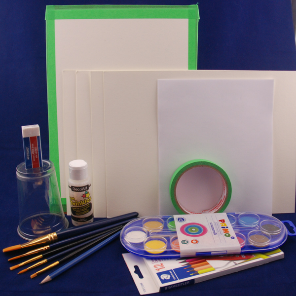 Art kits for 3-6 years Insect Watercolour Painting