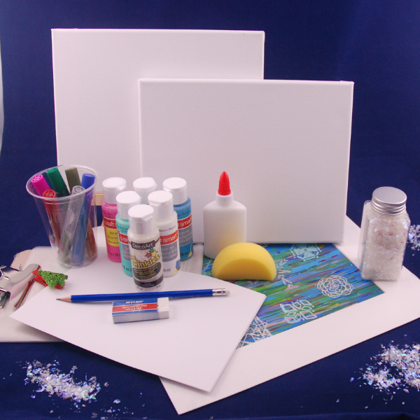 Holiday Painting Art Box for 3-6 years, delivered!