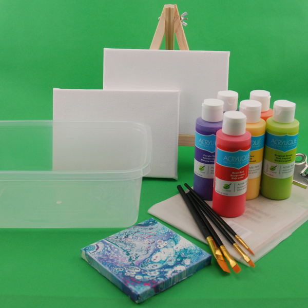 Underwater painting art box for tweens, delivered to your door.