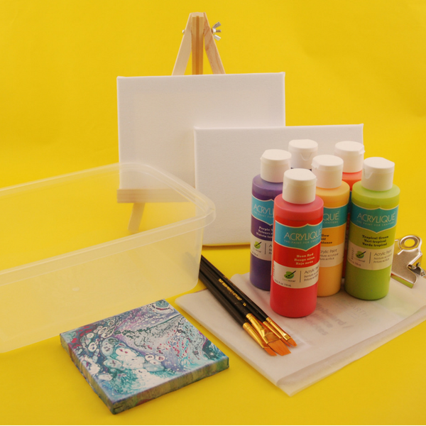 Make party planning a breeze with Underwater Painting party pack