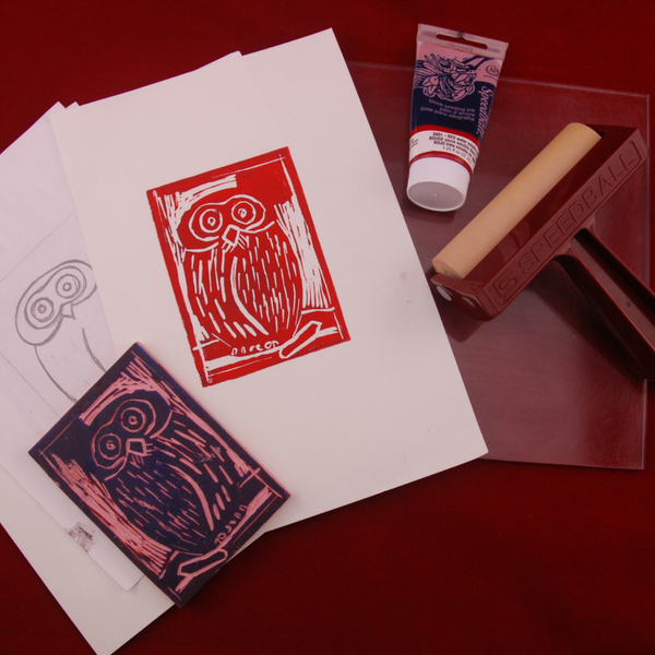 PRINTMAKING For Teens! (13+ yrs)