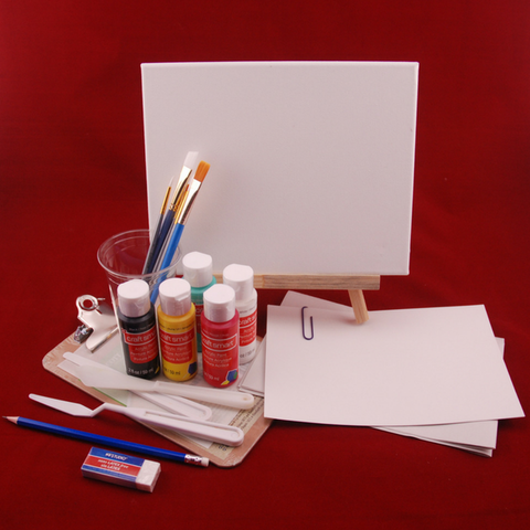 Impasto Painting kit for teens
