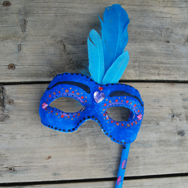 Venetian Mask Making (7-12 yrs)