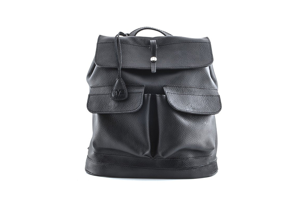 Backpack vintage city beaver black flatar
