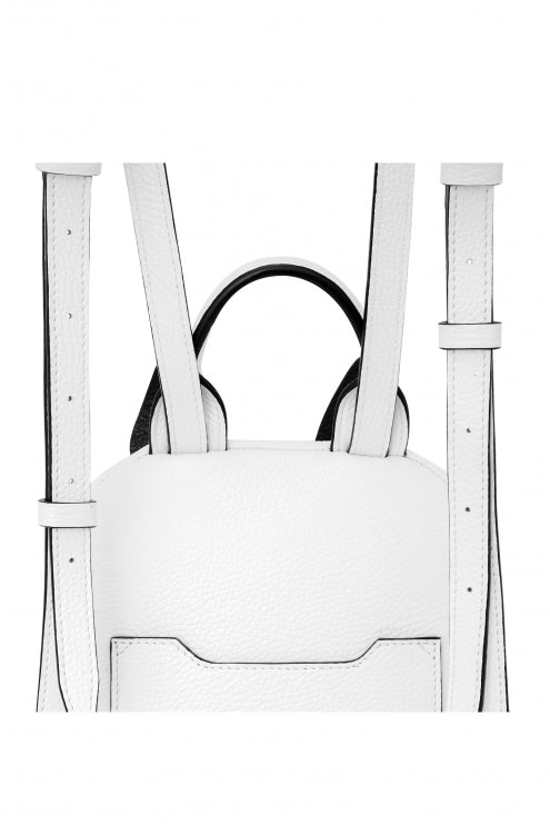 Backpack Lady Anne CANE white