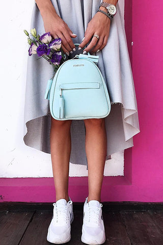 Backpack Lady Anne vogue mini aquamarine
