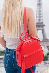 Backpack Lady Anne vogue red