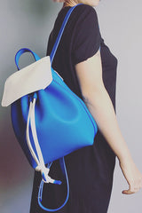 Backpack francesca white/blue