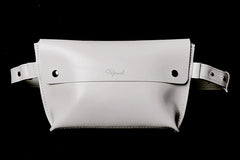 Waist bag unisex white/black