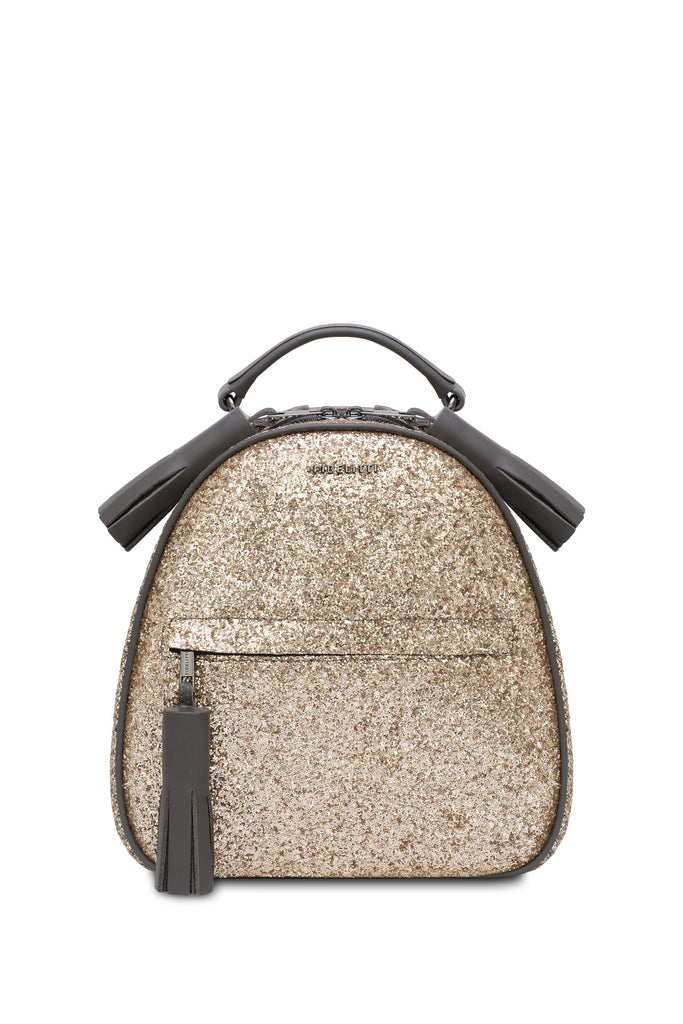 Backpack Lady Anne vogue glitter black