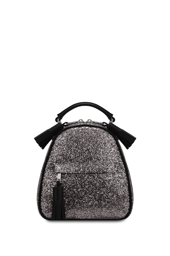 Backpack Lady Anne vogue mini glitter black