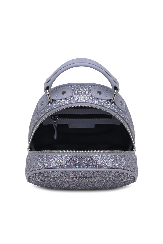 Backpack Lady Anne vogue mini glitter gray