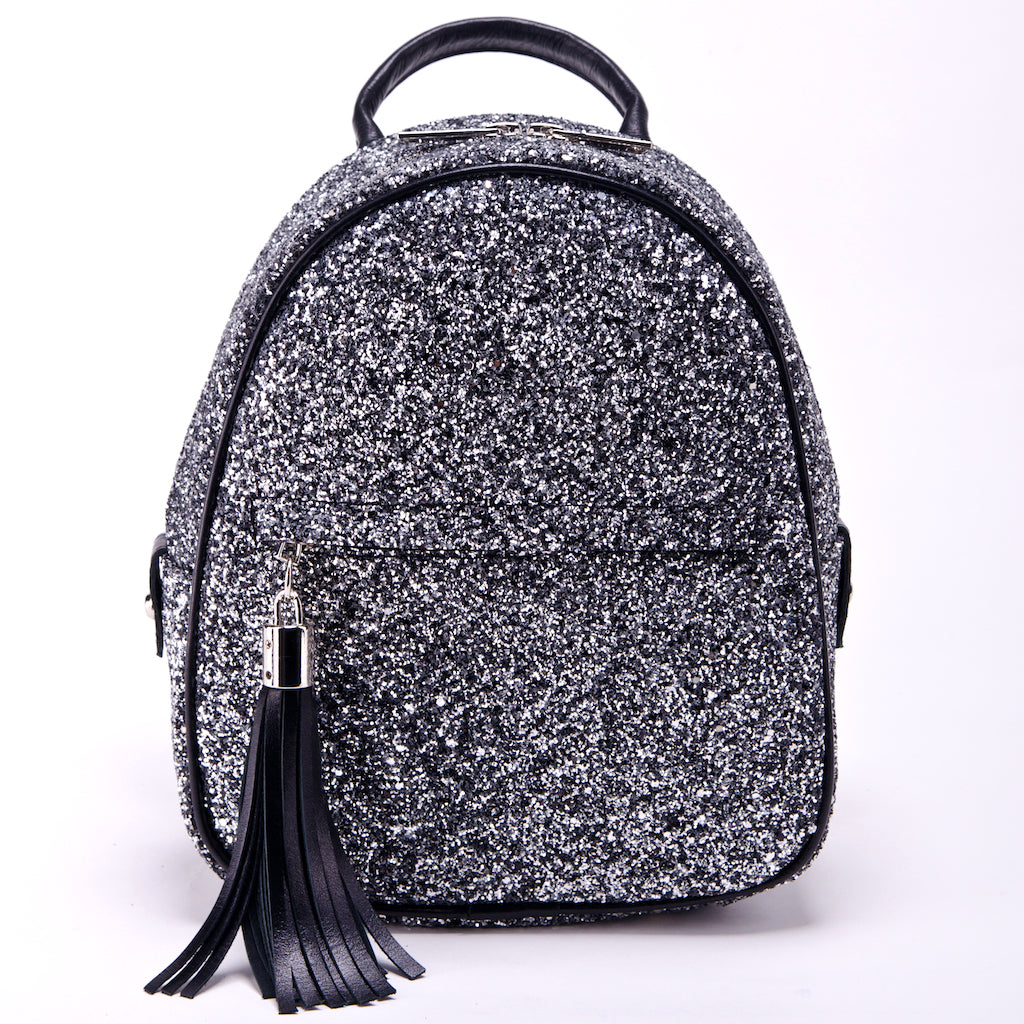 Backpack Miss Delaware glitter black