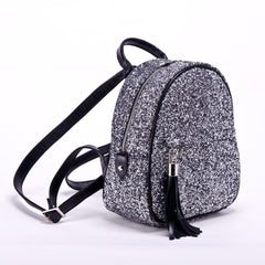 Backpack Miss Delaware glitter silver