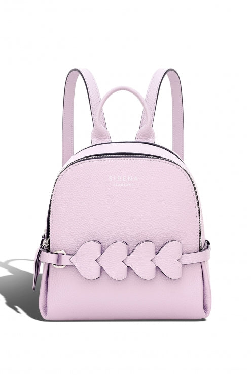 Backpack Lady Anne CUORE white